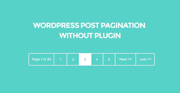 post-navigation-without-plugin