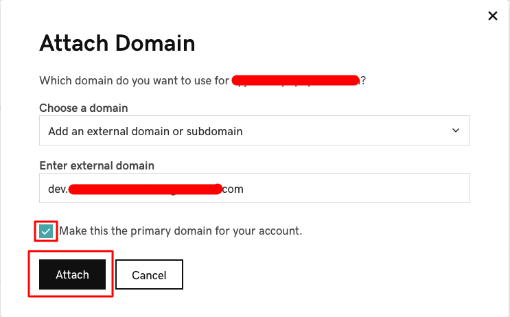 Godaddy Managed WordPress - 14 attach domain