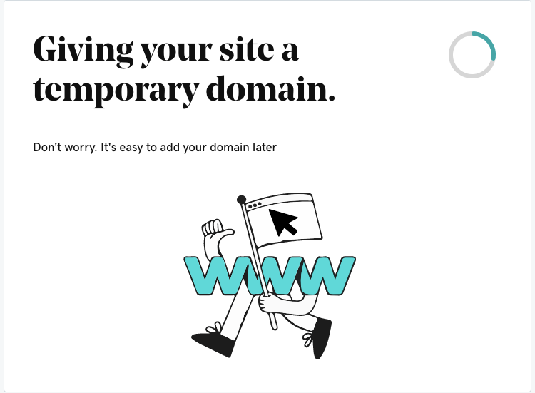 Godaddy Managed WordPress - 5 temporaray domain
