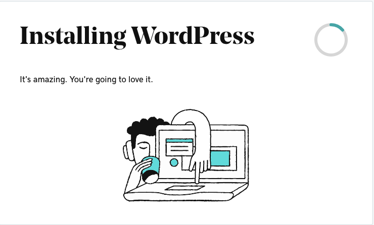 Godaddy Managed WordPress - 6 installing wordpress