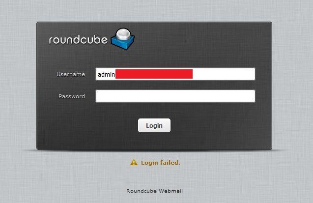 Vestacp-Webmail-Roundcube-Always-Login-Failed